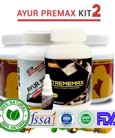 Ayur Premax Kit - 2 | Extra Strength & Stamina